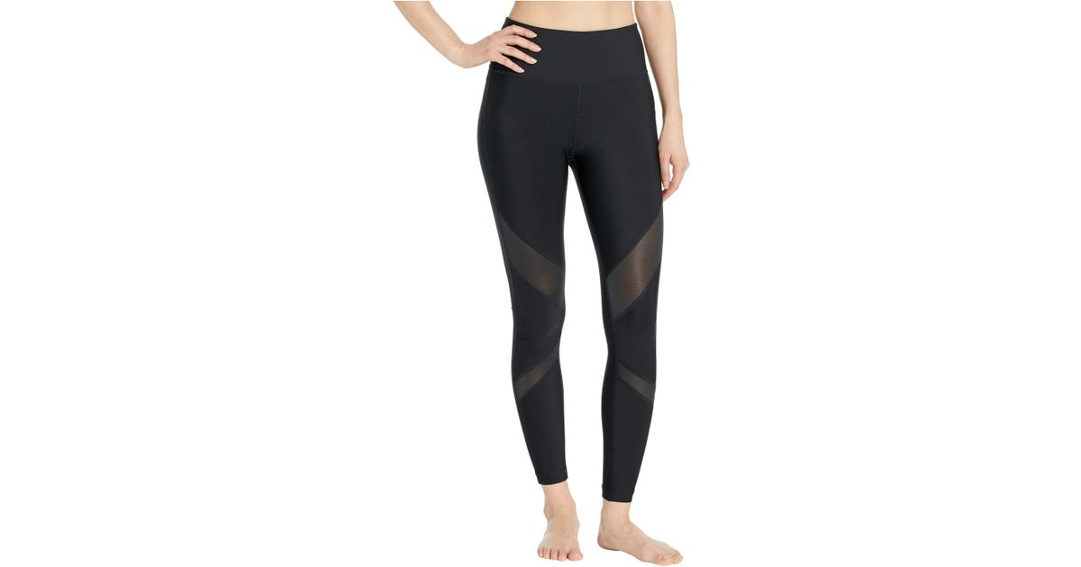 e8157a0c52b837 Hurley Quick Dry Mesh Surf Leggings (black) Women's Casual Pants in Black -  Lyst