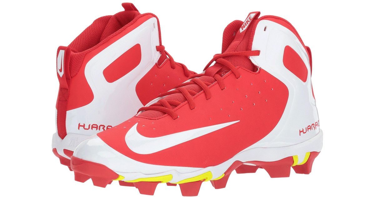 check out e13d4 0a8ac Lyst - Nike Alpha Huarache Keystone Mid in Red for Men