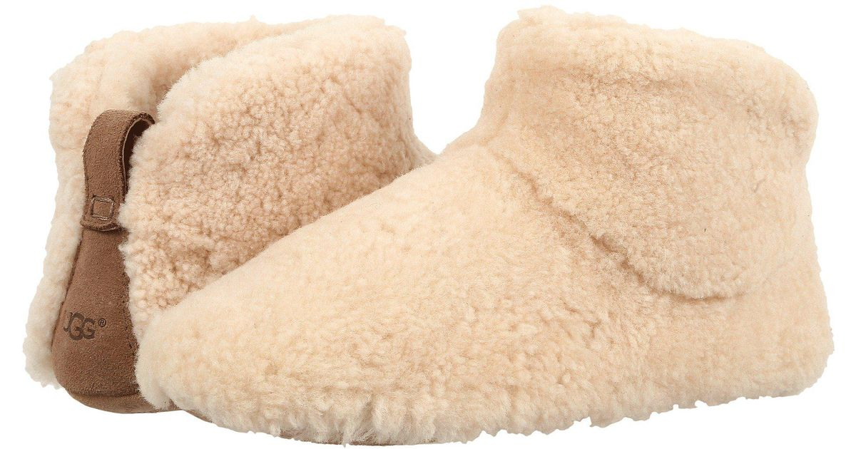 b06d5ab4617 Ugg Multicolor Amary Sheepskin Fur Slipper Bootie