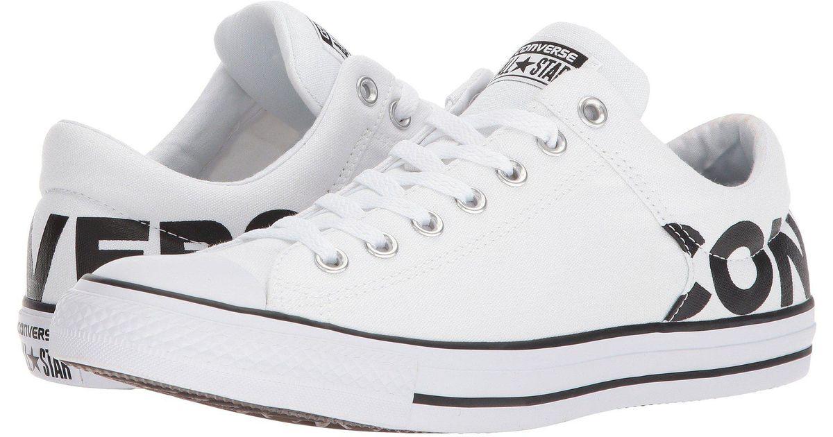 Star® High Street Wordmark Ox in White