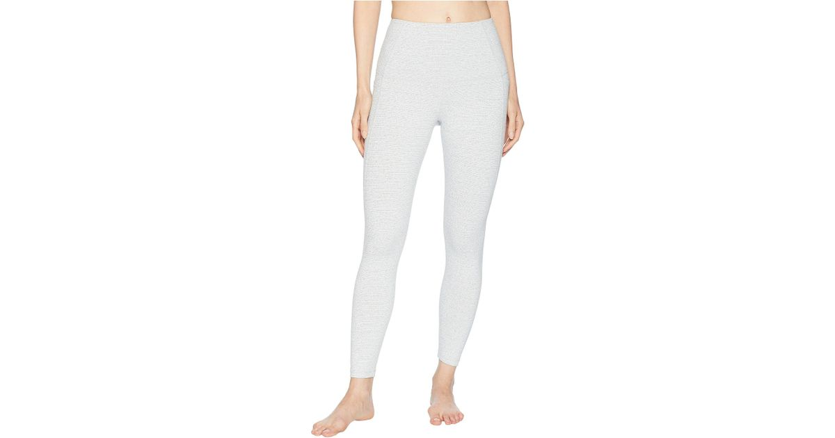 9ba0bfb6a8d Lorna Jane Workout Core Ankle Biter Tights (pale Grey Marl) Women s Workout  in Gray - Lyst
