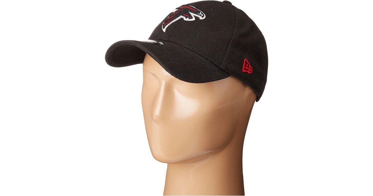 34683e0e81e Lyst - KTZ Atlanta Falcons 9twenty Core (black) Baseball Caps in Black for  Men
