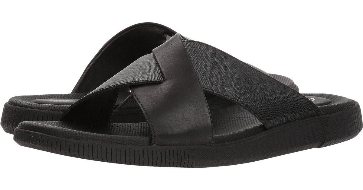 4947153495a7c Clarks Vine Ash (black Leather) Men's Sandals for men