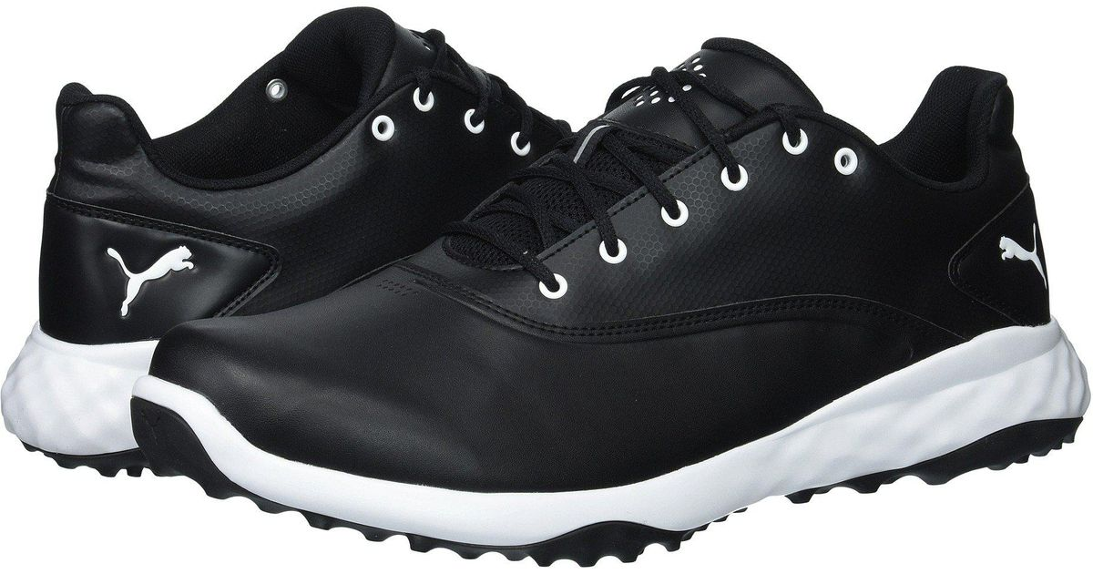 Lyst - PUMA Grip Fusion (puma White puma Black blue) Men s Golf Shoes in  Black for Men 2796e5c5a