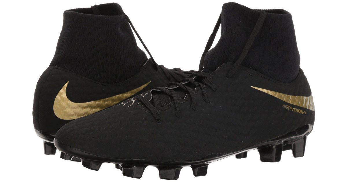 8b63348a73ac Nike Hypervenom Phantom 3 Academy Dynamic Fit Fg in Black for Men - Lyst