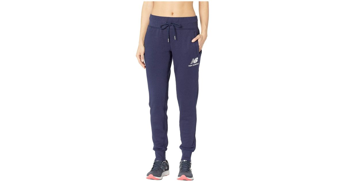 f610a13d6984c New Balance Essentials Brushed Sweatpants (pigment) Workout in Blue - Save  42% - Lyst