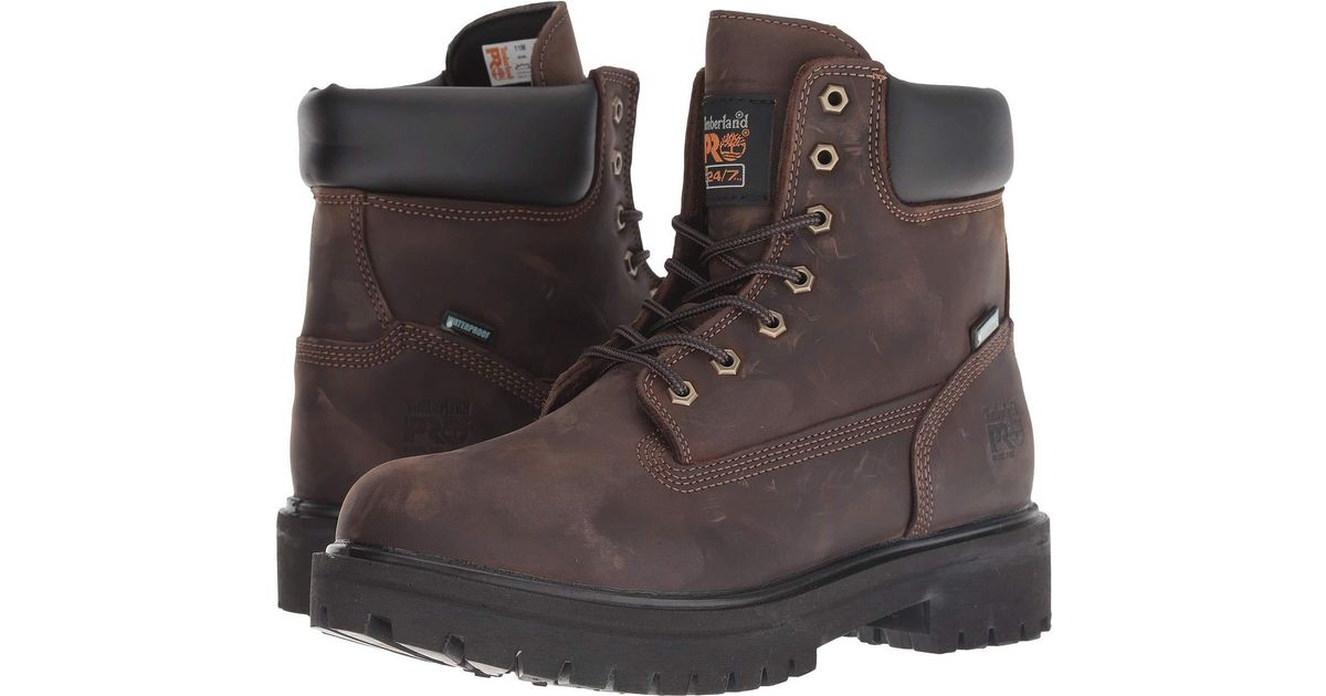 e643b30db63 Timberland Brown Direct Attach 6 Steel Toe for men