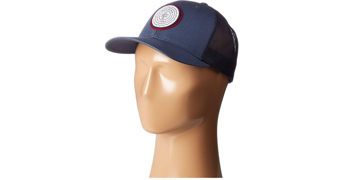 d7c7d6ad299 Lyst - Travis Mathew Trip L (heather Grey Pinstripe) Caps in Blue for Men
