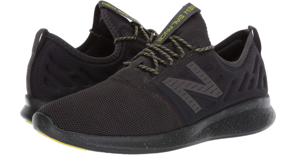 8802837e5aaf6 New Balance Fuelcore Coast V4 City Stealth (phantom/limeade) Running Shoes  in Black for Men - Save 5% - Lyst