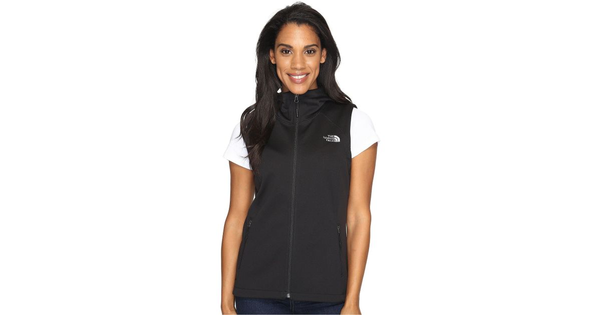 2da217bc4619 Lyst - The North Face Canyonwall Hoodie Vest in Black