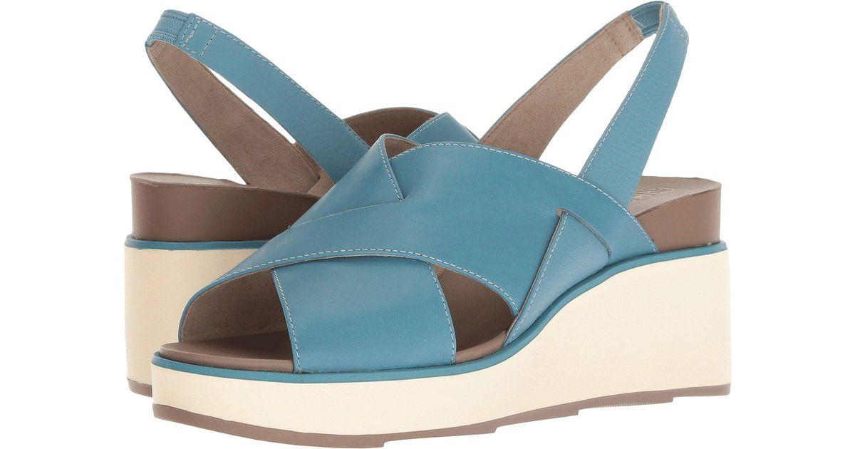 fd9d5de2beee Lyst - Camper Tropik K200593 Wedge Sandal in Blue