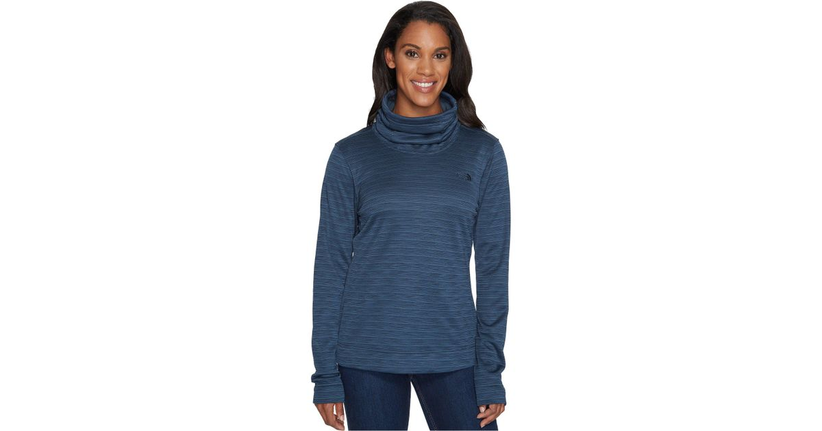 7a7129144 The North Face Blue Novelty Glacier Pullover
