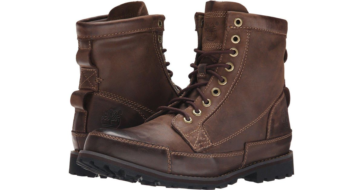 new arrive competitive price well known Timberland Brown Earthkeepers® Rugged Original Leather 6