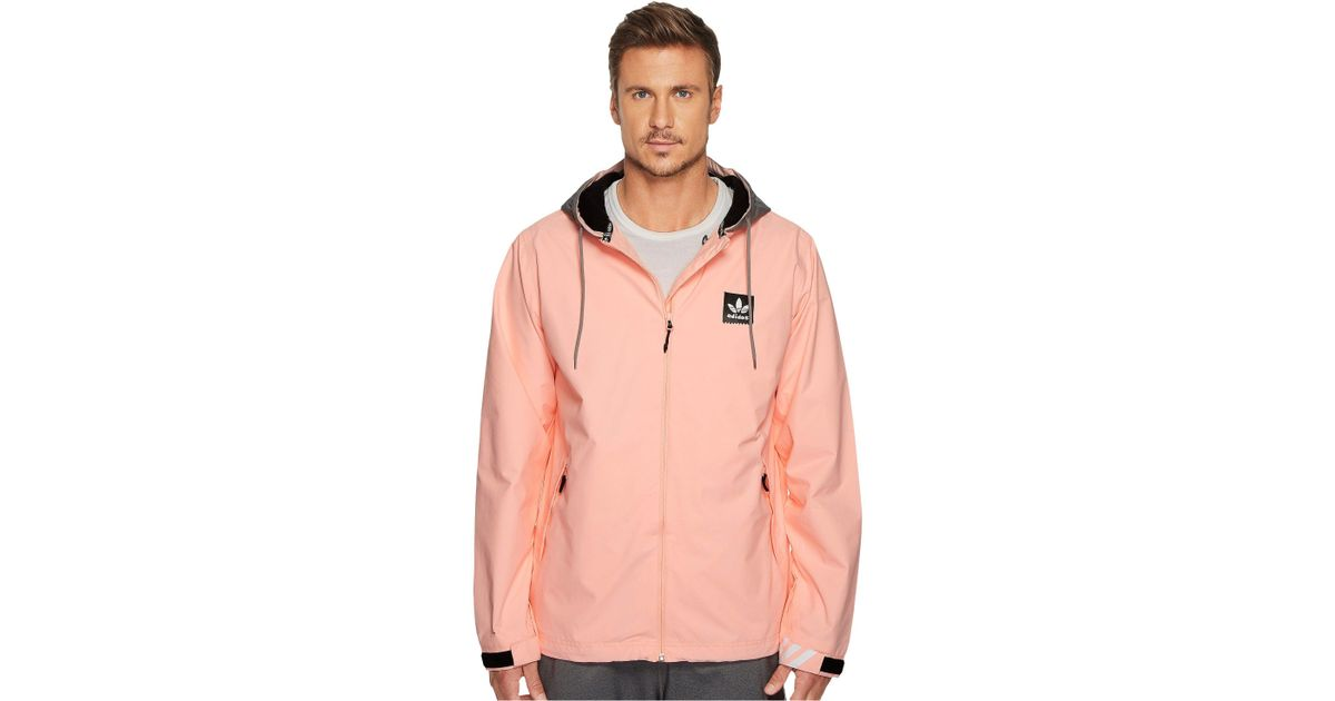 Adidas Originals Synthetic Civilian Gonz Jacket 2 0 In Pink For Men Lyst