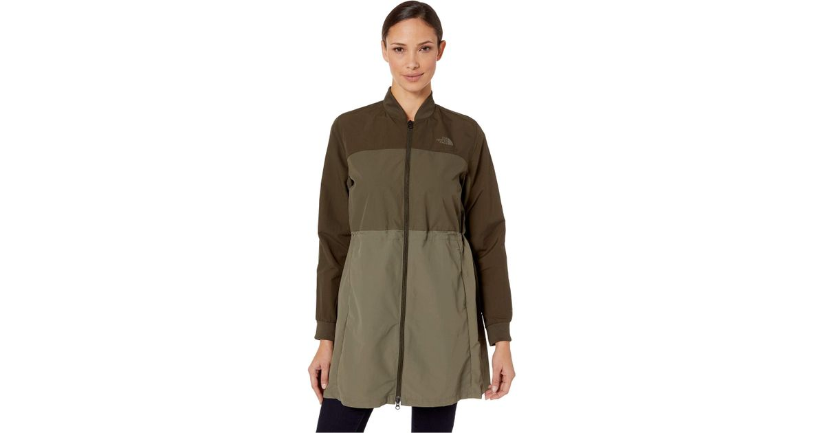 7145f2768 The North Face Green Flybae Bomber