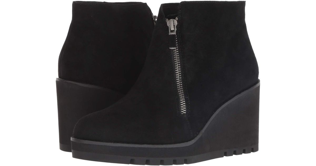 66d7f0cb4ed Lyst - Eileen Fisher Alto (graphite Suede) Women s Boots in Black