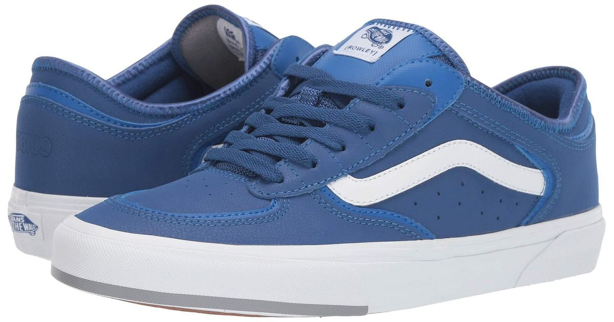 Vans Lace Rowley Classic in Blue - Lyst