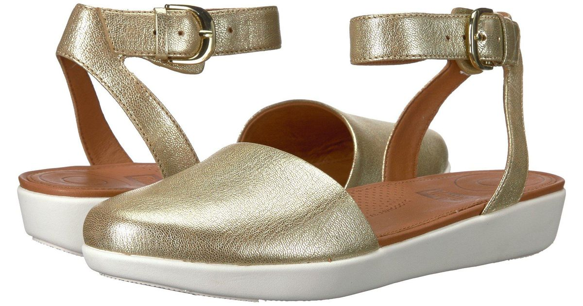 Fitflop Suede Cova Closed Toe Sandals