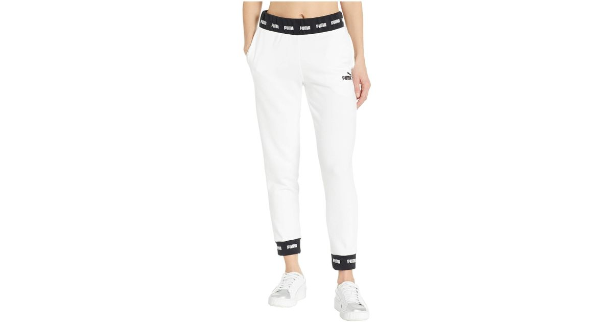 2cb0fe2051a90 PUMA White Amplified Sweatpant