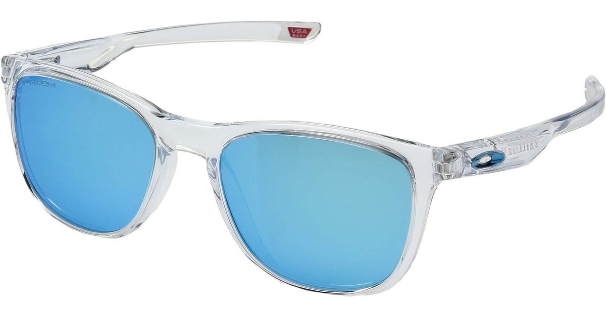 186382f2629 Lyst - Oakley Trillbe X (polished Clear prizm Ruby) Sport Sunglasses in  Blue for Men