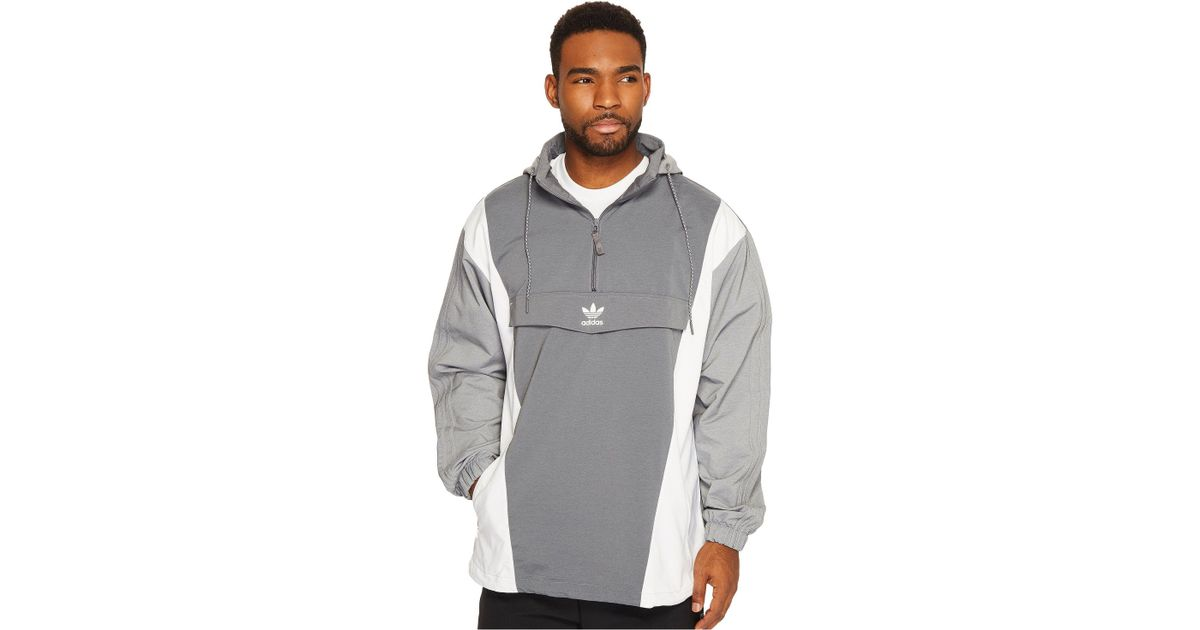 adidas originals blocked anorak jacket