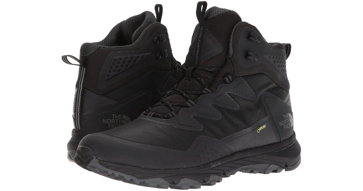 8bf63bd7758 The North Face - Ultra Fastpack Iii Mid Gtx(r) (tnf Black/amber) Men's  Shoes for Men - Lyst