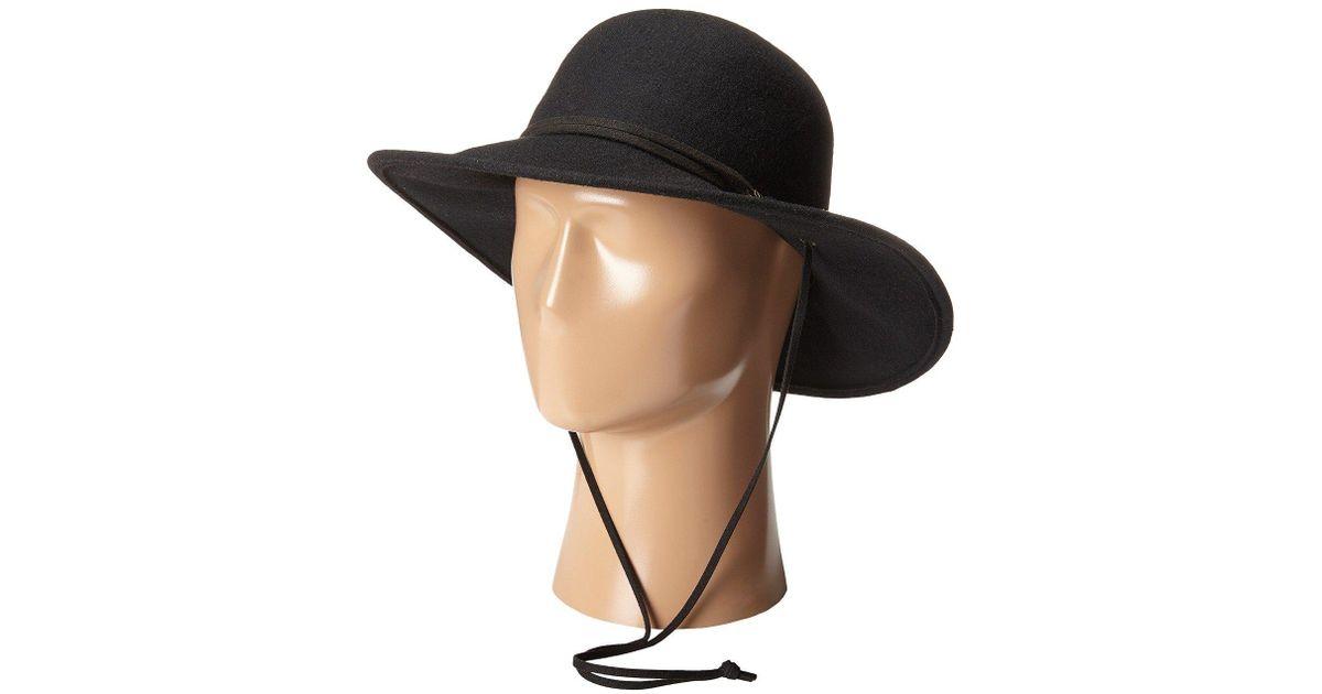 eeb1eb9aa Prana Stevie Wool Hat (black) Traditional Hats