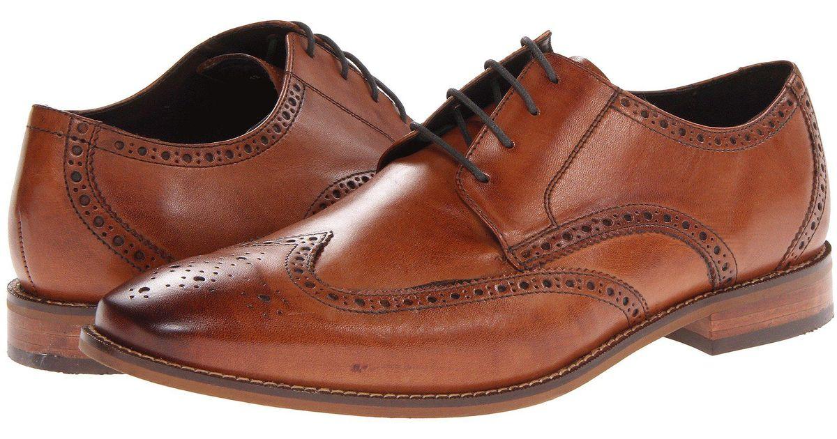 25c36c3527e43 Florsheim Brown Crawford Wingtip Oxford for men