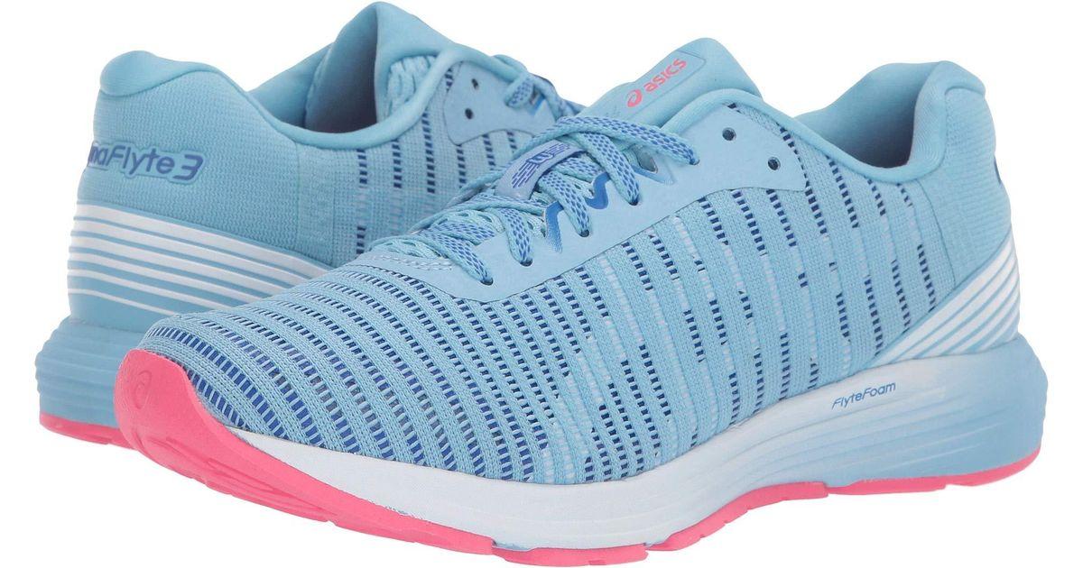 separation shoes 84188 2e266 Asics - Blue Dynaflyte 3 (skylight/white) Women's Running Shoes - Lyst