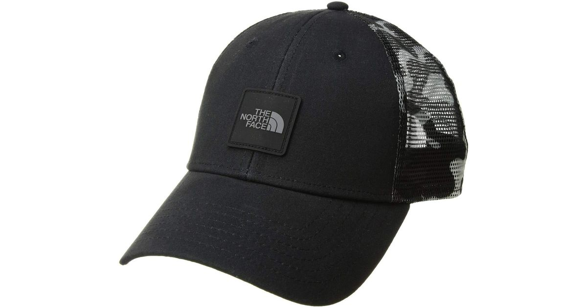 9c1a3fa56 The North Face Black Mudder Novelty Mesh Trucker Hat (moab Khaki Woodchip  Camo Desert Print) Caps for men