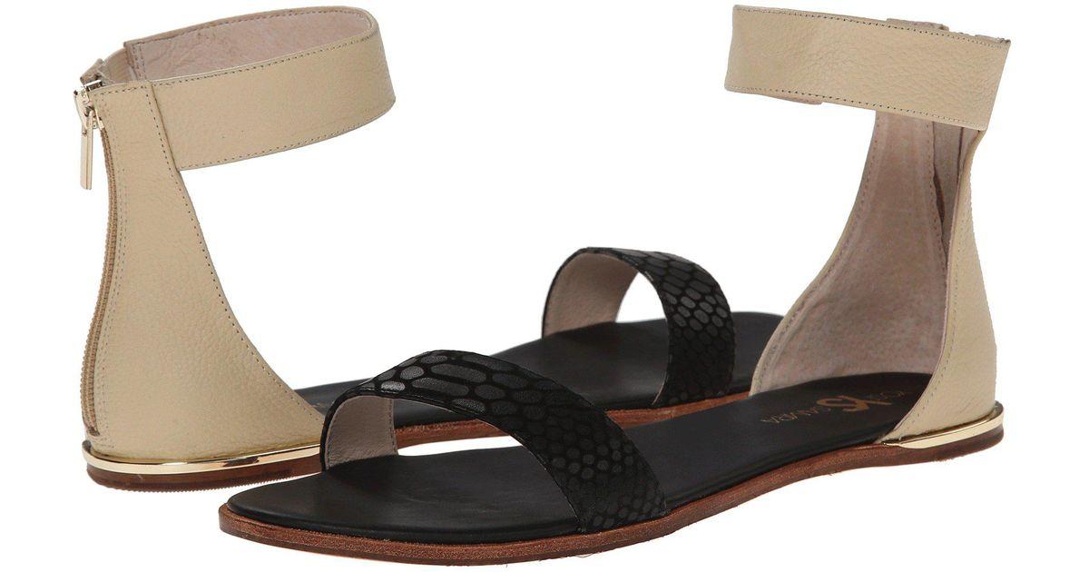 8ce1e52d91887 Yosi Samra Black Cambelle 3d Croco Leather Sandal