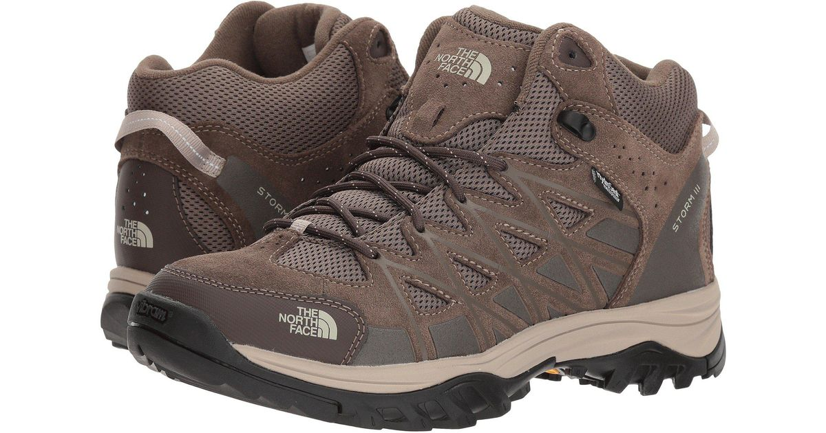 869c97315 The North Face Brown Storm Iii Mid Wp for men