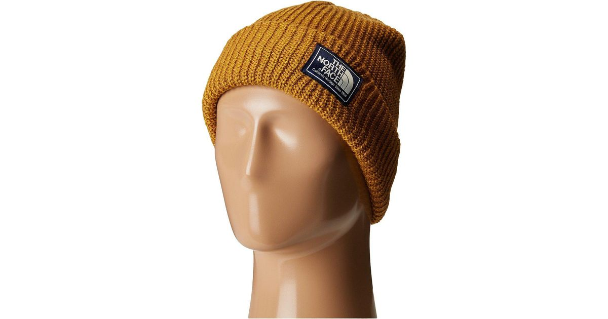 Lyst - The North Face Salty Dog Beanie (golden Brown arrowwood Yellow Marl)  Beanies in Brown for Men 5f3070cc8e2