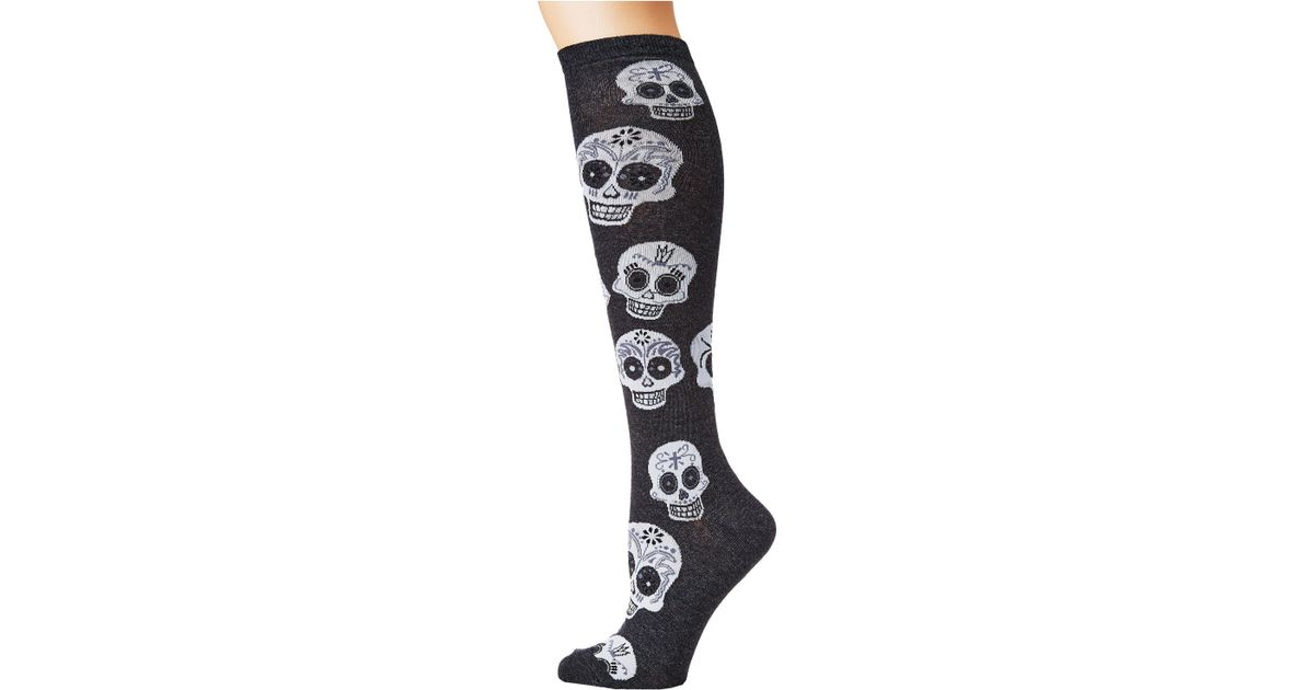 Socksmith Big Muertos Skull Graphic Crew Socks
