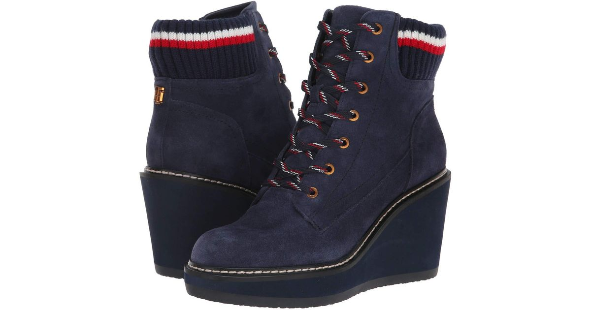 5d96478f2222 Lyst - Tommy Hilfiger Solenne in Blue - Save 11%