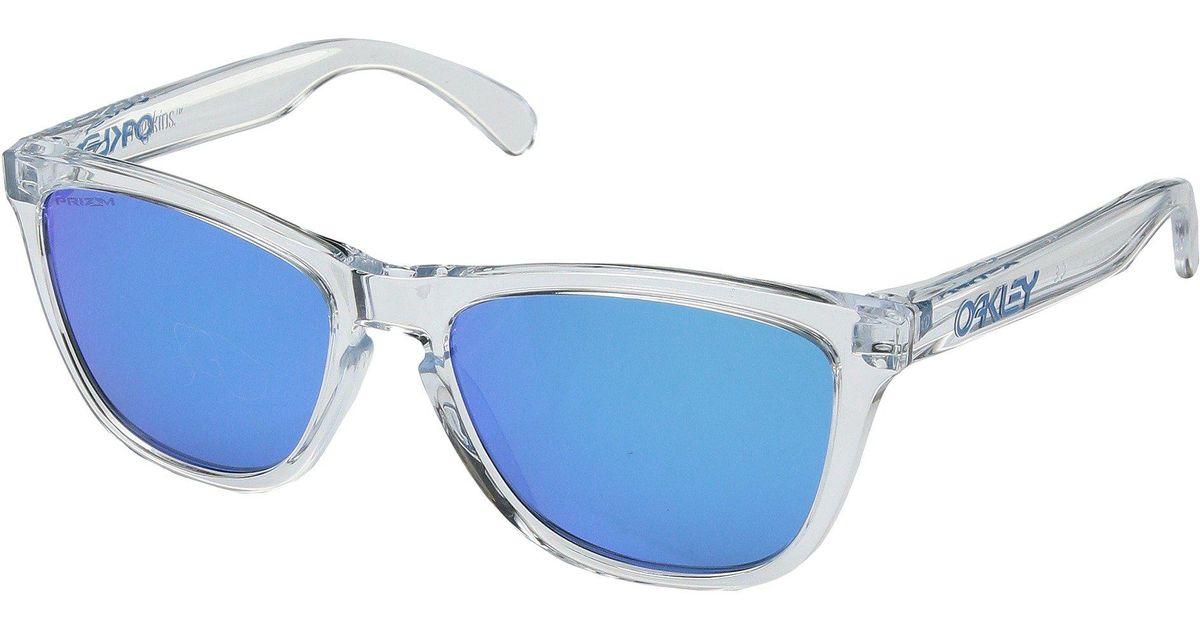 c4653277eb42 ... sweden lyst oakley frogskins black ink w prizm ruby sport sunglasses in  blue for men eb66a