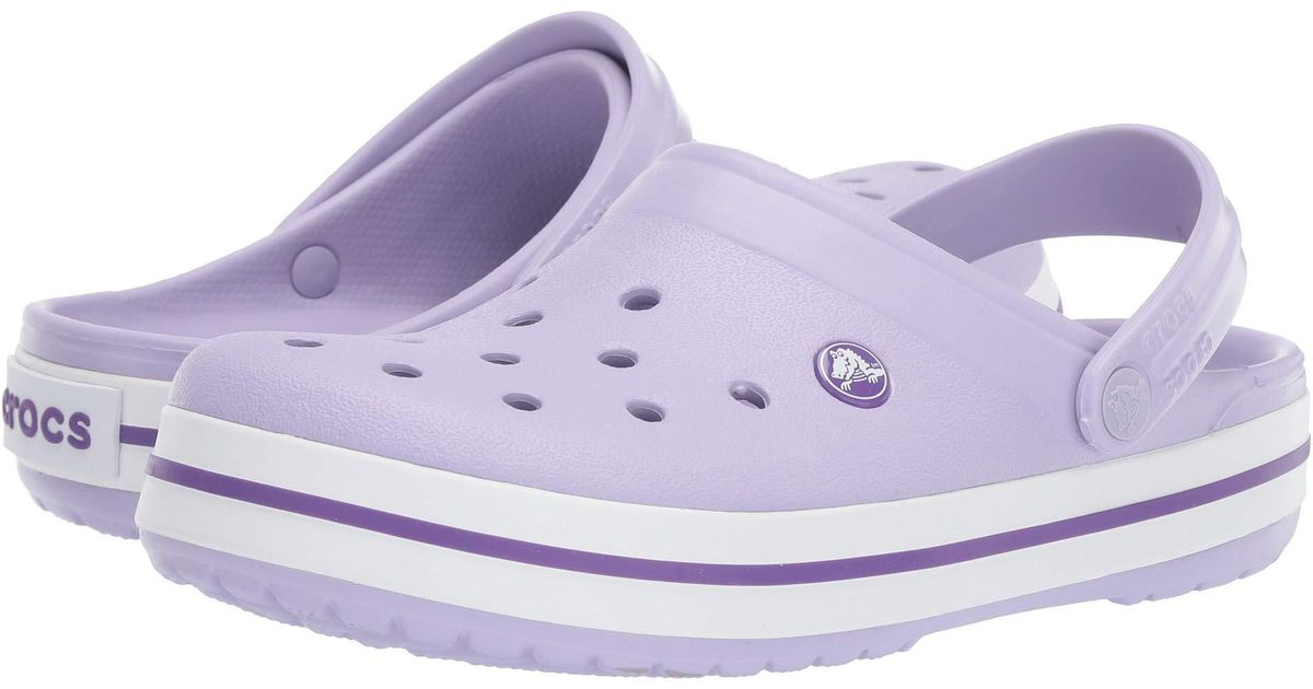 Crocs™ Crocband Clog in Purple - Lyst