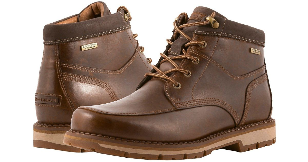Rockport Leather Centry Panel Toe Boot