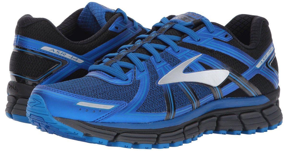 44b243a8018 Lyst - Brooks Adrenaline Asr 14 (black ebony lapis Blue) Men s Running Shoes  in Blue for Men