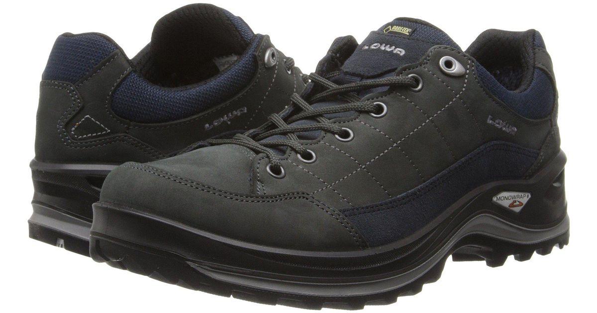 Für Original auswählen 2019 original billig zu verkaufen Lowa Black Renegade Iii Gtx(r) Lo (dark Grey/navy) Men's Shoes for men