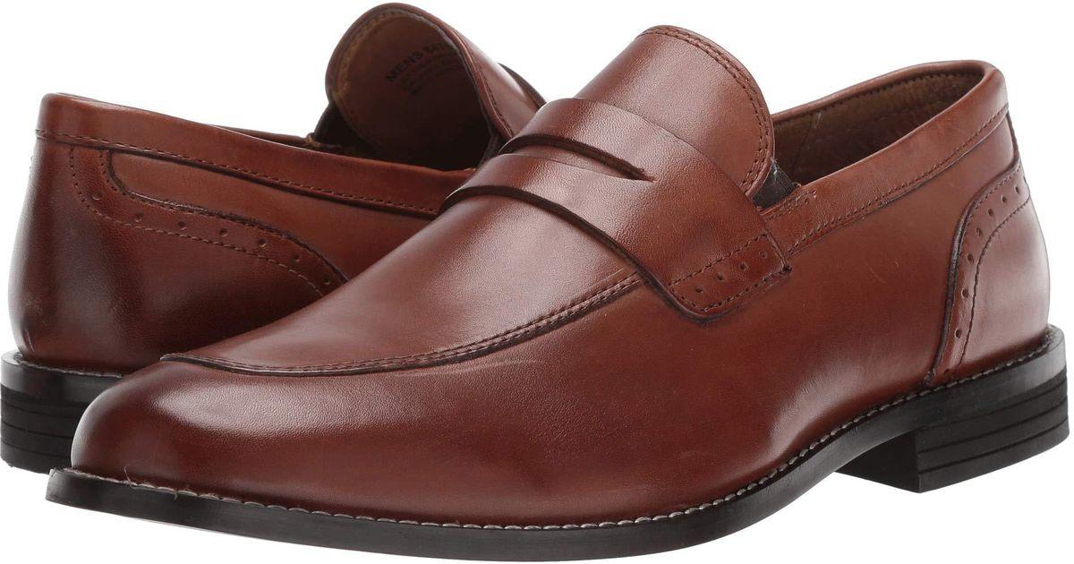 fc7aa219938 Lyst - Nunn Bush Strata Moc Toe Dress Casual Penny Loafer Dress (cognac)  Men s Slip-on Dress Shoes in Brown for Men - Save 11%