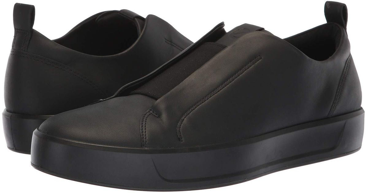 f631689da3 Ecco Soft 8 Stretch Low (black) Shoes for men