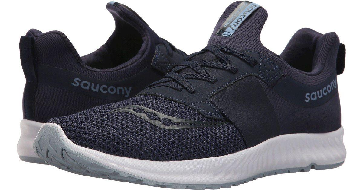 6c545115b52cb Saucony Blue Stretch Go Breeze (black) Men's Running Shoes for men