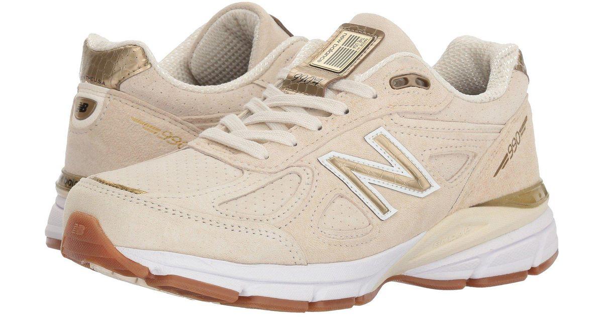4ee0c81408271 New Balance Multicolor 990v4 Running Shoe