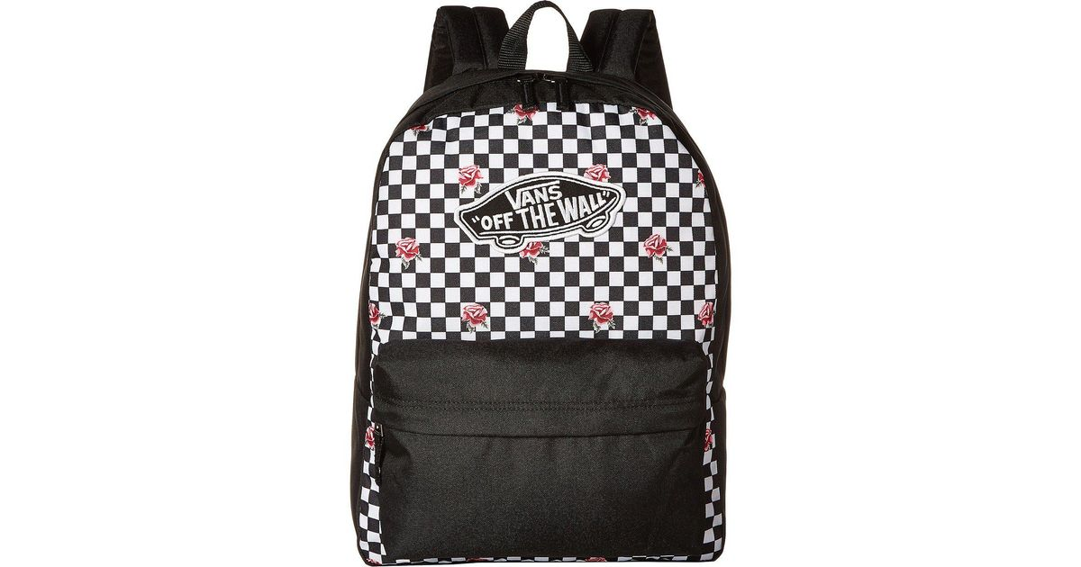 69529183c5b Vans Realm Backpack in Black - Lyst