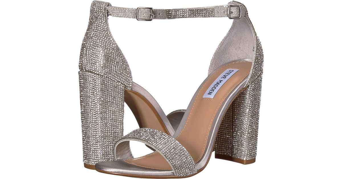 dd1ef6e9996 Steve Madden Multicolor Carrson-r Heeled Sandal (crystal) High Heels