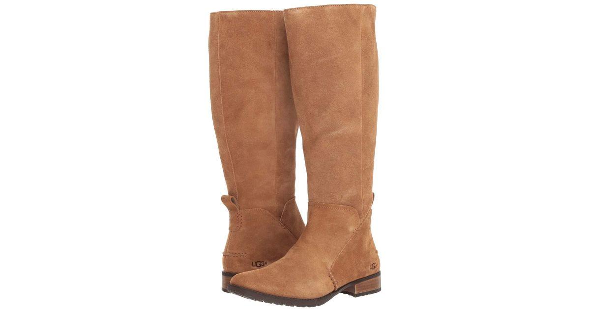 db8a2d4eb3e Ugg Leigh Boot (dark Brown) Women's Zip Boots