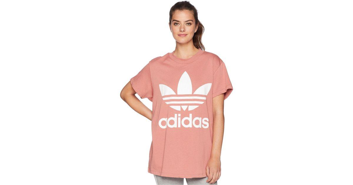 Lyst Trefoil Adidas Originals Lyst Big Trefoil 15393 Tee en rosa 0b97358 - hvorvikankobe.website