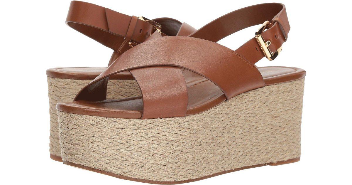 24088a6920b MICHAEL Michael Kors Brown Jodi Platform Sandal (women)