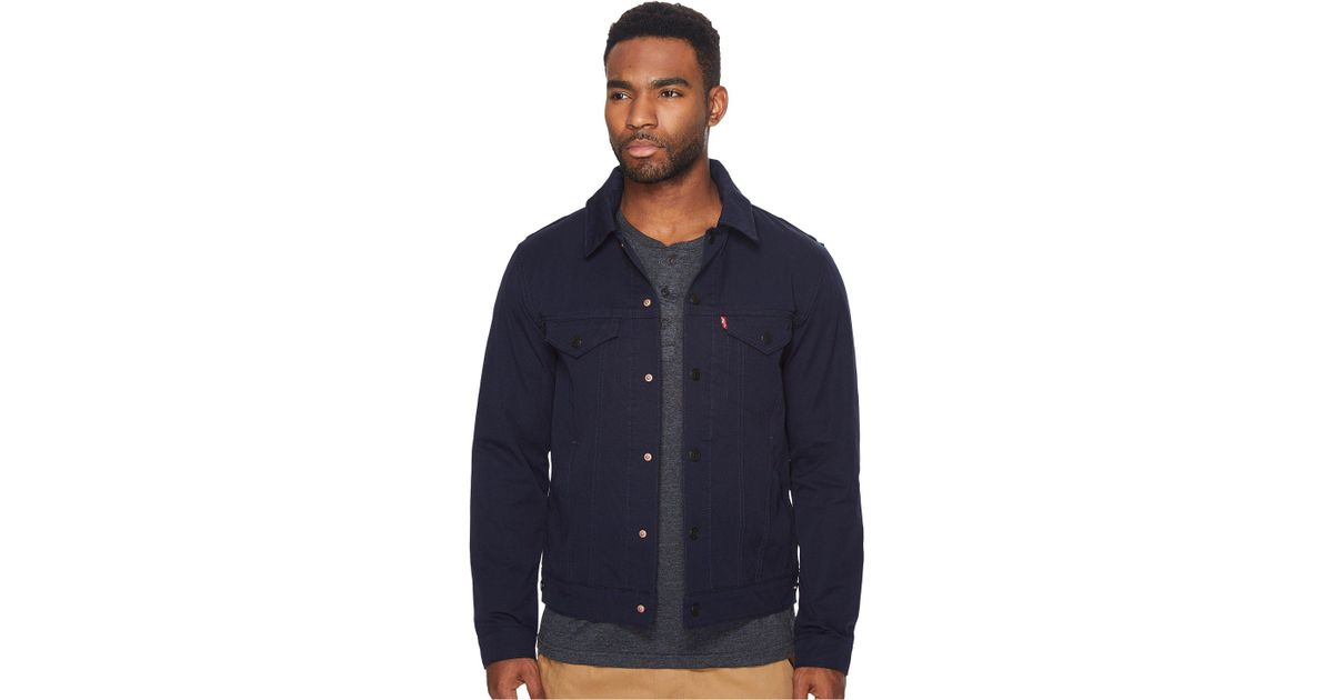 d3c4aab4 Levi's Levi's(r) Mens Commuter Pro Trucker Jacket Ii (nightwatch Blue  Softshell) Men's Coat in Blue for Men - Lyst